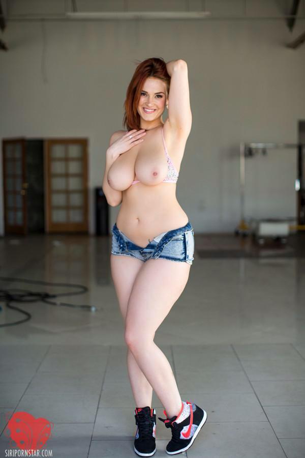 Curvy redhead pornstars